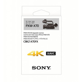 【新博攝影】Sony CBKZ-X70FX (PXW-X70 攝影機 4K 升級序號)