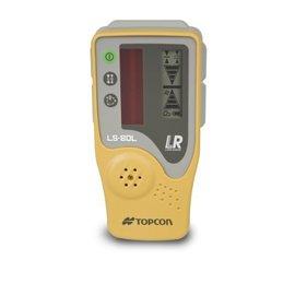 日本 TOPCON LS80L 紅光接收器 含尺夾 雷射水平儀戶外接收器 // 旋轉雷射接收器