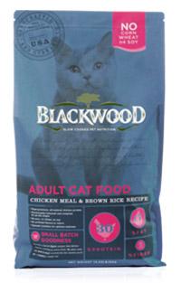 WDJ推薦 Blackwood 柏萊富 特調成貓亮毛配方(雞肉+糙米) 4LB/4磅