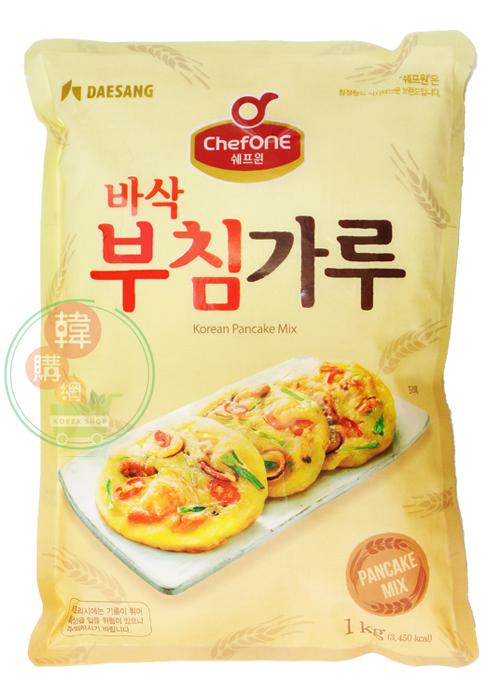 【韓購網】韓國大象1kg煎餅粉10包★不想吃飯的另選擇★買回家輕鬆做出美味的韓式煎餅喔