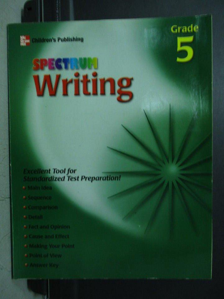 【書寶二手書T3/語言學習_WGV】SPECTRUM Writing
