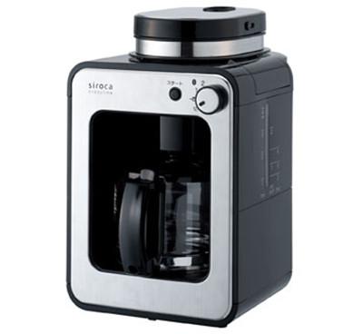 聲寶 SAMPO 代理 SIROCA 自動研磨咖啡機 STC-408 同日本 STC-401 / 中文介面 / 內建研磨機