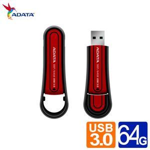 威剛 S107 64G防水防震USB3.0隨身碟(紅/藍 兩色)