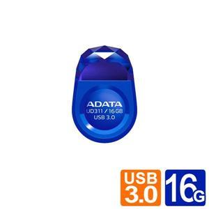 威剛 UD311/16G USB3.0高速寶石碟(藍色)