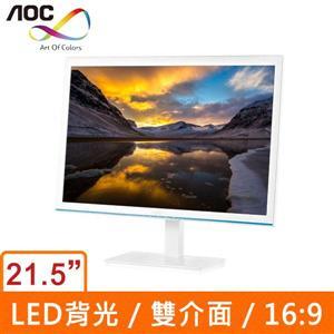 AOC E2276VWM6/WB 21.5吋(16:9) LED液晶顯示器