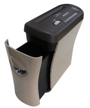 AURORA 5張抽屜型碎段式碎紙機(咖啡色) ( AS526C )