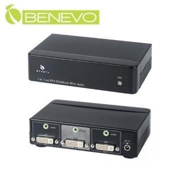 BENEVO UltraVideo 2埠 DVI +Audio影音訊號分配器 ( BDAS102 )