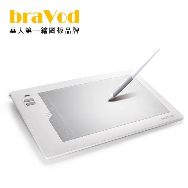 Bravod AGT-195極光無電池筆專業繪圖板-極光蝶