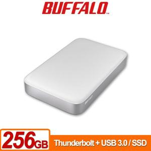 Buffalo PAU3 Thunderbolt 256GB(白) 2.5吋SSD行動硬碟