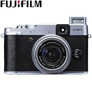 FUJIFILM 富士 X20(銀)1200萬畫素數位相機