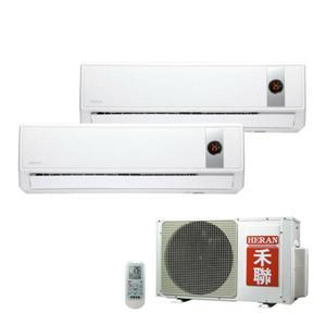 HERAN禾聯HI-23G*2(室內機)/HO2-2323(室外機)豪華系列冷專型一對二壁掛式冷氣  (含基本安裝,超出另計)