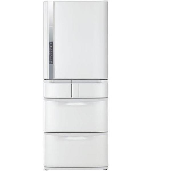 日立 519公升變頻五門電冰箱(星燦白)(RS53CMJ)