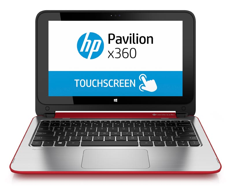 HP Pavilion 11-n114TU x360紅11.6 ( L1M24PA )  筆記型電腦 Intel Core M 5Y10/4GD3/500GB Intel HD Graphics/一年保固 Windows 8.1 /光碟機選購