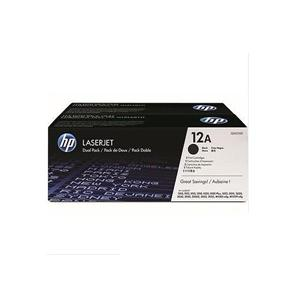 HP Q2612AD 黑色碳粉匣(雙包裝)