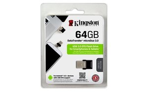 KINGSTON MicroDuo USB3.0 64GB OTG ( DTDUO3/64GB )