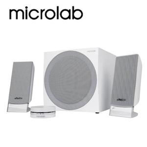 【Microlab】 FC-20 2.1 CH 數位臨場多媒體音箱(普及版_白)