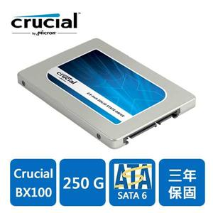 Micron Crucial BX100 250GB SSD 固態硬碟