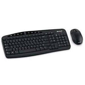 微軟無線鍵鼠組 800 (黑)