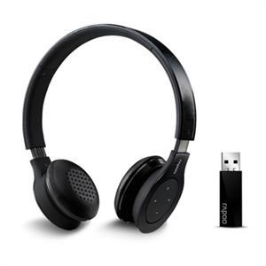雷柏 H8020BK 無線耳機麥克風-黑