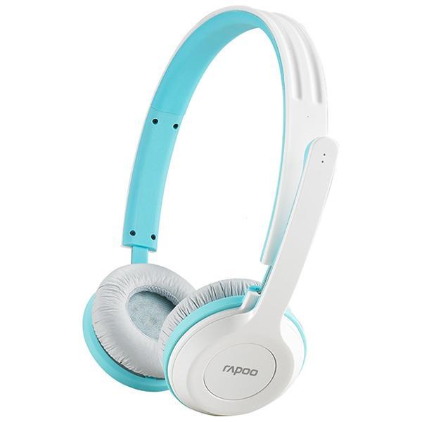 Rapoo 雷柏H8030 2.4G無線耳機麥克風 (藍/黑/灰/紅  四色)