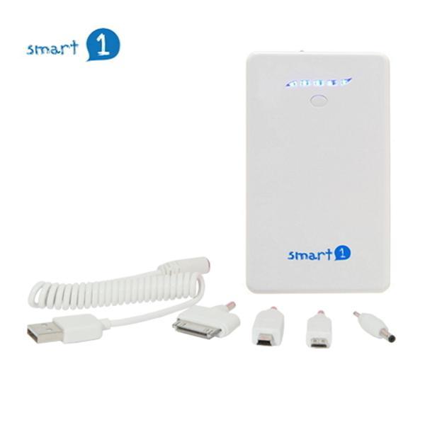 Smart1 移動電源8800mAh-白