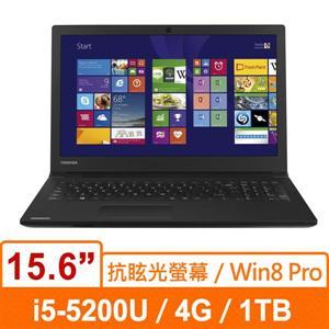 TOSHIBA R50-B PSSG2T-01P01K(黑) 筆記型電腦 15.6W HD/i5-5200U/4G/1TB5400/INTEL HD/W7 PRO/W8 PRO