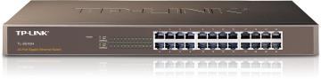 """TP-LINK TL-SG1024 19""""鐵殼  Gigabit交換器,24埠1000BASE-T"""