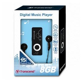TRANSCEND 創見MP3音樂行動碟-300(8G)(黑) TS8GMP300
