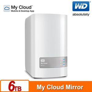 WD My Cloud Mirror 6TB(3TBx2) 雲端儲存系統