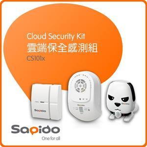 Sapido CS101x 雲端保全感測組 磁簧開關感應、紅外線移動感測、溫度/光線/聲音感測