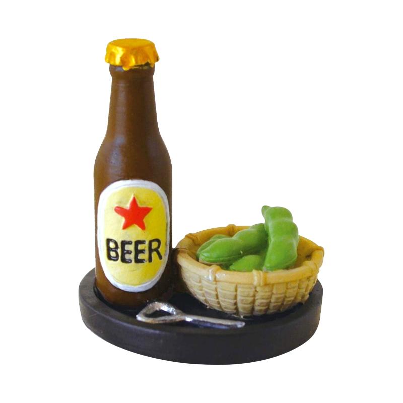 Decole日本擺設玩偶 / 公仔 / 道具 / 配件 - Concombre 啤酒與毛豆 ( ZSV-87938 )