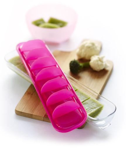 澳洲 Qubies 食物冷凍分裝盒-粉色 副食品分裝盒 保存盒