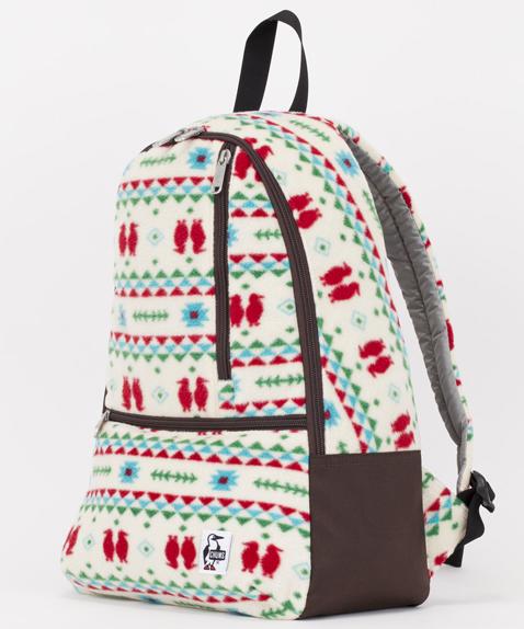 《台南悠活運動家》CHUMS 美國 Day Pack Boa Fleece 刷毛後背包 CH60-2089