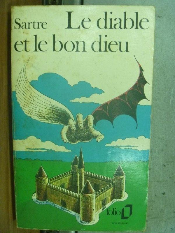 【書寶二手書T7/原文小說_HJT】Le diable et le bon dieu_Sartre