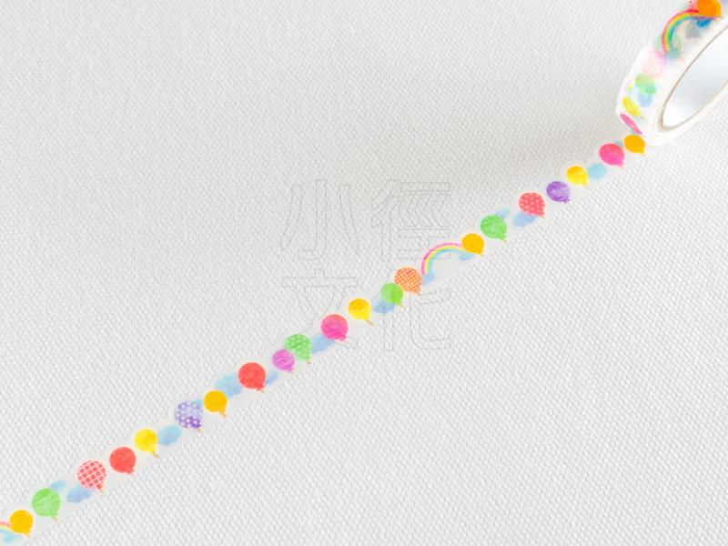 *小徑文化*日本進口和紙膠帶 PINE BOOK nami.nami Aqua Neon系列 ( TM00439 )