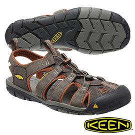 Keen Clearwater CNX 男 輕量護趾水陸兩用鞋 深灰/咖啡 1014456