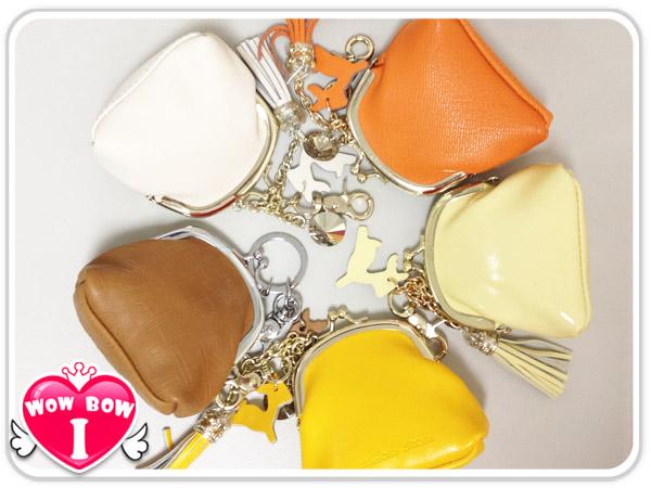皇冠零錢包♥愛挖寶 MNY-21♥流蘇零錢包/雙珠扣零錢包/鑰匙圈/收納包 (不挑色/款)