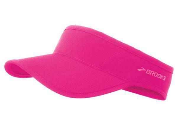 [陽光樂活]BROOKS 中空帽 慢跑帽 SHERPA VISOR-BK280339621 桃紅