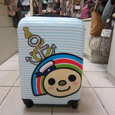~雪黛屋~OPEN 小將20吋行李箱 360度靈活旋轉輪 PC行李箱 限量版卡通炫彩輕量型