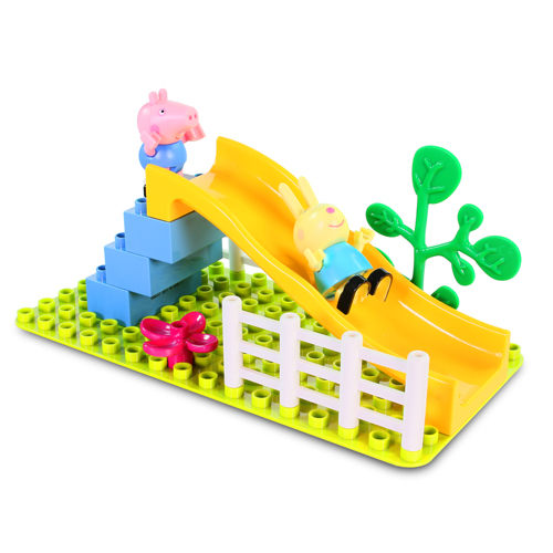粉紅豬小妹 溜滑梯遊戲組