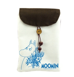 Moomin嚕嚕米正版授權 - 手機袋:【 Moomin 】