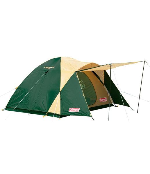 【露營趣】中和 附鋁墊地布 Coleman 4-5人Cross CM-7132 270x270 露營帳篷 4~6人帳 家庭帳