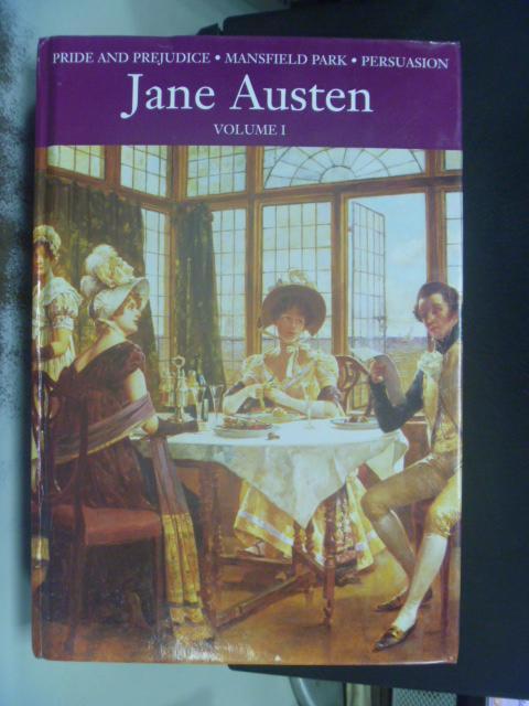 【書寶二手書T2/原文小說_HHB】Jane Austen_Jane Austen