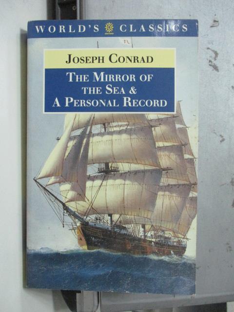 【書寶二手書T9/原文小說_ODO】The mirror of the sea_Joseph