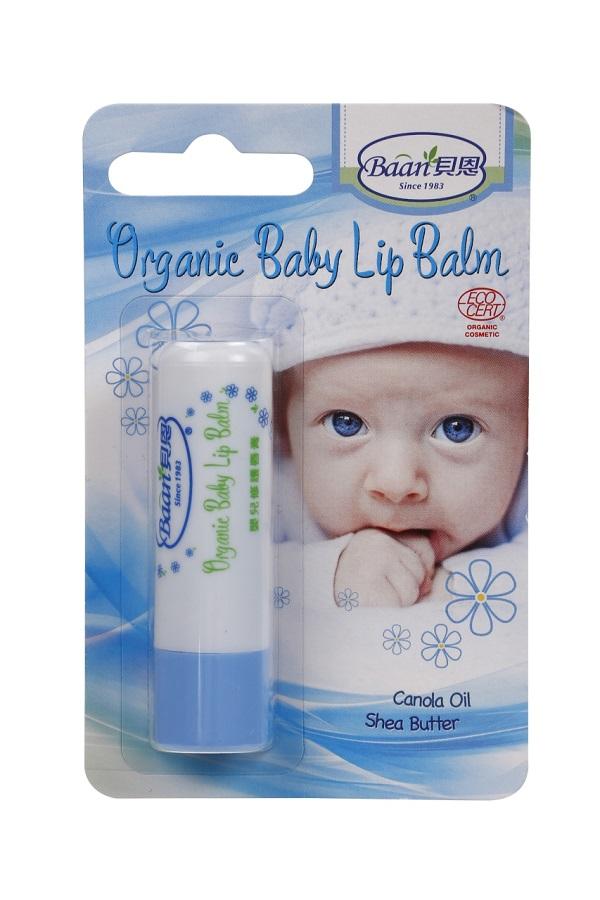 Baan貝恩 - 嬰兒修護唇膏 (草本) Organic Baby Lip Balm 4.5g