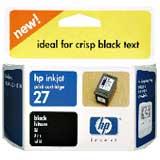 HP C8727AA No.27 黑色墨水匣