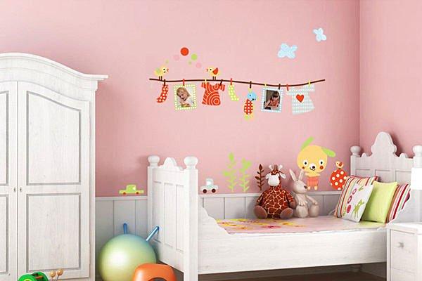 BO雜貨【YV2724】創意可移動壁貼 牆貼 背景貼 時尚組合壁貼樹 璧貼 磁磚貼 晾衣架相框