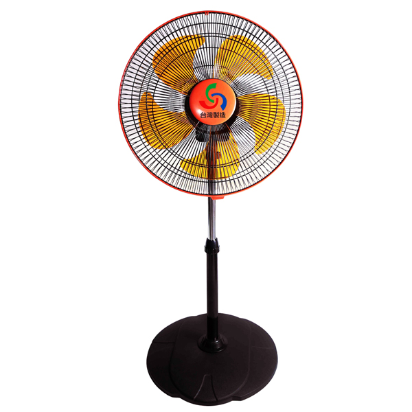 【金展輝】16吋廣角對流多功能循環涼風扇 A-1611(橘色)