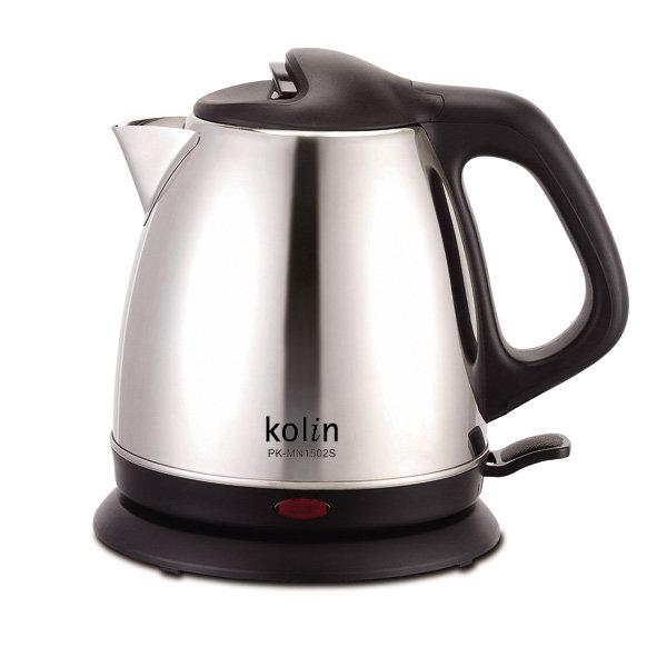 【Kolin歌林】1.5L不鏽鋼快煮壺 PK-MN1502S