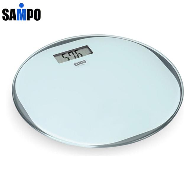 【SAMPO聲寶】超薄型圓形電子體重計 BF-L1302ML
